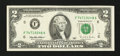 Error Notes:Ink Smears, Fr. 1936-F $2 1995 Federal Reserve Note. Very Fine-Extremely Fine.....