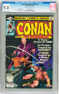 Modern Age (1980-Present):Superhero, Conan the Barbarian #122-129 CGC-Graded Group (Marvel, 1981) CGCNM/MT 9.8.... (Total: 8 Comic Books)
