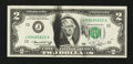 Error Notes:Ink Smears, Fr. 1935-J $2 1976 Federal Reserve Note. Very Choice CrispUncirculated.. ...
