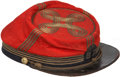 "Military & Patriotic:Civil War, Colorful ""Zouave"" Style Chasseurs Cap...."