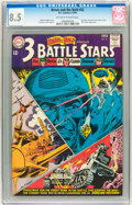 Silver Age (1956-1969):War, The Brave and the Bold #52 - 3 Battle Stars (DC, 1964) CGC VF+ 8.5 Off-white to white pages....