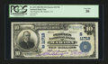 National Bank Notes:Virginia, Marion, VA - $10 1902 Plain Back Fr. 633 The Peoples NB Ch. #(S)11718. ...