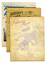 Rocket's Blast Comics Collector Fanzines Group (G. B. Love/James van Hise, early 1960s).... (Total: 10 Comic Books)