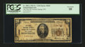 National Bank Notes:West Virginia, Webster Springs, WV - $20 1929 Ty. 1 The First NB Ch. # 8360. ...