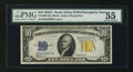 Small Size:World War II Emergency Notes, Fr. 2309 $10 1934A North Africa Silver Certificate. PMG About Uncirculated 55.. ...
