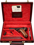 Military & Patriotic:WWI, Mauser Limited Commemorative Model 1902 Cartridge Counter Luger inOriginal Case. Cal. 9mm. Serial Number C220 of 250 Exam...