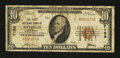 National Bank Notes:Wisconsin, Bayfield, WI - $10 1929 Ty. 1 The First NB Ch. # 7158. ...