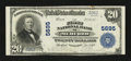 National Bank Notes:Wisconsin, Medford, WI - $20 1902 Plain Back Fr. 659 The First NB Ch. # 5695. ...
