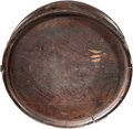 Military & Patriotic:Civil War, Untouched Confederate Cedar Wood Canteen with Great Capture History from the Battle of Perryville, Kentucky....