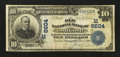National Bank Notes:Wisconsin, Oshkosh, WI - $10 1902 Date Back Fr. 616 The Old NB Ch. # (M)6604. ...