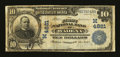 National Bank Notes:Minnesota, Wadena, MN - $10 1902 Date Back Fr. 620 The First NB Ch. # (M)4821....
