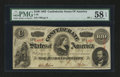 Confederate Notes:1863 Issues, T56 $100 1863. PF-1.. ...