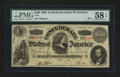 Confederate Notes:1863 Issues, T56 PF-1 $100 1863.. ...