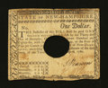 Colonial Notes:New Hampshire, New Hampshire April 29, 1780 $1 Very Fine....