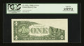Error Notes:Obstruction Errors, Fr. 1932-A $1 2006 Federal Reserve Note. PCGS Gem New 65PPQ.. ...