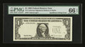 Error Notes:Missing Third Printing, Fr. # Unknown $1 1995 Federal Reserve Note. PMG Gem Uncirculated 66 EPQ....