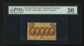 Fractional Currency:First Issue, Fr. 1282 25¢ First Issue PMG About Uncirculated 50.. ...
