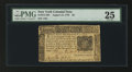 Colonial Notes:New York, New York August 13, 1776 $5 PMG Very Fine 25.. ...