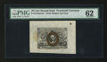 Fractional Currency:Second Issue, Fr. 1244spwmf 10¢ Second Issue Wide Margin Face Specimen PMG Uncirculated 62.. ...