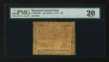 Colonial Notes:Maryland, Maryland December 7, 1775 $8 PMG Very Fine 20.. ...