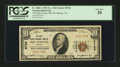 National Bank Notes:Virginia, Hot Springs, VA - $10 1929 Ty. 1 The Bath County NB Ch. # 8722. ...