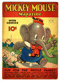 Platinum Age (1897-1937):Miscellaneous, Mickey Mouse Magazine V2#9 (K. K. Publications/ Western PublishingCo., 1937) Condition: VG/FN....