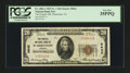 National Bank Notes:Virginia, Warrenton, VA - $20 1929 Ty. 1 The Peoples NB Ch. # 9642. ...