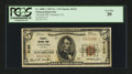 National Bank Notes:Virginia, Tazewell, VA - $5 1929 Ty. 1 Tazewell NB Ch. # 6123. ...