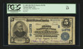National Bank Notes:Virginia, Ashland, VA - $5 1902 Plain Back Fr. 608 The First NB Ch. #(S)11978. ...