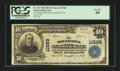 National Bank Notes:Virginia, Round Hill, VA - $10 1902 Plain Back Fr. 633 The Round Hill NB Ch.# 11569. ...