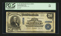 National Bank Notes:Virginia, Honaker, VA - $20 1902 Plain Back Fr. 654 The First NB Ch. # 10252....