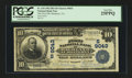 National Bank Notes:Virginia, Monterey, VA - $10 1902 Date Back Fr. 618 The First NB of Highlandat Monterey Ch. # (S)9043. ...