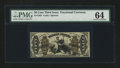 Fractional Currency:Third Issue, Fr. 1362 50¢ Third Issue Justice PMG Choice Uncirculated 64....