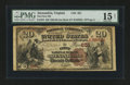 National Bank Notes:Virginia, Alexandria, VA - $20 1882 Brown Back Fr. 494 The First NB Ch. #651. ...