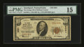 National Bank Notes:Pennsylvania, Smethport, PA - $10 1929 Ty. 1 The Grange NB of McKean County Ch. # 8591. ...