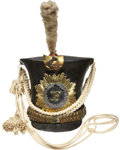 Military & Patriotic:Pre-Civil War, Magnificent and Complete Bell Crown Shako....