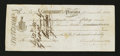 Canadian Currency: , Placentia, NF- First Note of Exchange £3 Nov. 3, 1825 Ch. # UNL....