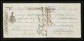 Canadian Currency: , Placentia, NF- First Note of Exchange £4 Nov. 30, 1815 Ch. # UNL....