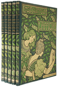 Jules Cheret (editor). Les Maîtres de l'Affiche - Complete in Five Volumes Comprised of 256