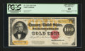 Large Size:Gold Certificates, Fr. 1215 $100 1922 Gold Certificate PMG Apparent Extremely Fine40....