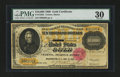 Large Size:Gold Certificates, Fr. 1225h $10000 1900 Gold Certificate PMG Very Fine 30....