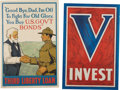 Military & Patriotic:WWI, WWI Home Front Posters: Group of Four Liberty Bond Posters....(Total: 4 Items)