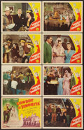 """Movie Posters:Western, The Cowboy and the Senorita (Republic, 1944). Lobby Card Set of 8 (11"""" X 14""""). Western.. ... (Total: 8 Items)"""