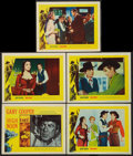 """Movie Posters:Western, High Noon (United Artists, 1952). Title Lobby Card and Lobby Cards (4) (11"""" X 14""""). Western.. ... (Total: 5 Items)"""