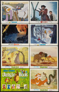 "Movie Posters:Animated, The Jungle Book Lot (Buena Vista, R-1978). Title Lobby Card andLobby Cards (7) (11"" X 14""). Animated.. ... (Total: 8 Items)"