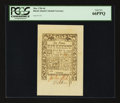 Colonial Notes:Rhode Island, Rhode Island May 1786 6d PCGS Gem New 66PPQ....