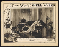 "Three Weeks (Goldwyn-Cosmopolitan, 1924). Lobby Card (11"" X 14""). Romance"