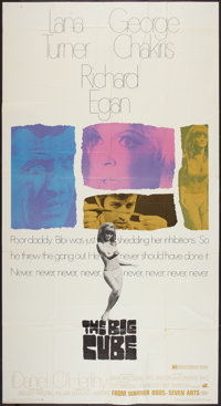 "The Big Cube (Warner Brothers-Seven Arts, 1969). Three Sheet (41"" X 81""). Thriller"