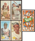 Baseball Cards:Sets, 1968 Topps Posters Complete Set (24) Plus 1969 Topps Mets Poster. ...