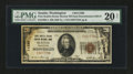 National Bank Notes:Washington, Seattle, WA - $20/$10 Double Denomination 1929 Ty. 1 First Seattle Dexter Horton NB Ch. # 11280. ...
